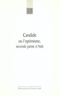 Candide ou L'optimisme traduit de l'allemand de M. Le Docteur Ralph, seconde partie (MDCCLX) -