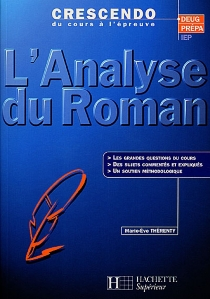 L'analyse du roman - Marie-EveThérenty