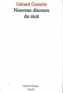 Nouveau discours du récit - GérardGenette