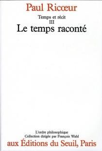 Temps et récit - PaulRicoeur