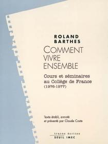 Les cours et les séminaires de Roland Barthes - RolandBarthes