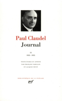 Journal - Paul Claudel