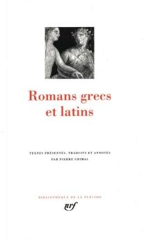 Romans grecs et latins -