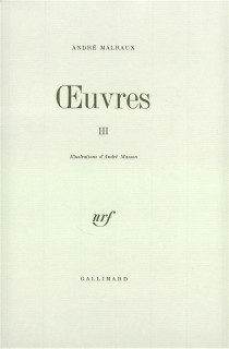 Oeuvres - AndréMalraux