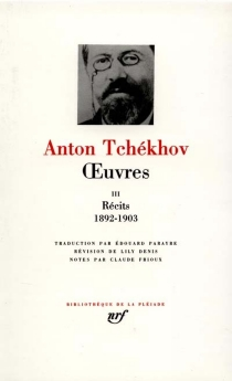 Oeuvres - Anton PavlovitchTchekhov