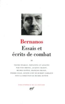Essais et écrits de combat | Volume 2 - GeorgesBernanos