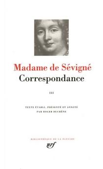 Correspondance - Marie de Rabutin-ChantalSévigné