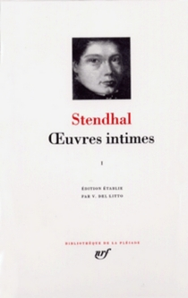 Oeuvres intimes - Stendhal