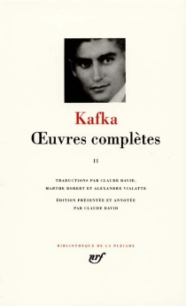 Oeuvres complètes - Franz Kafka