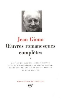 Oeuvres romanesques complètes | Volume 5 - Jean Giono