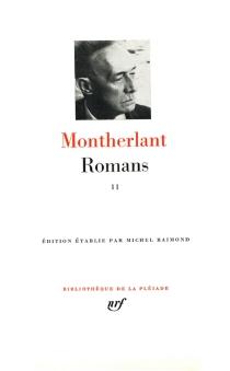 Romans | Volume 2 - Henry deMontherlant