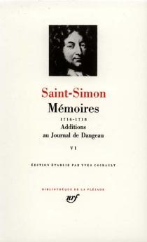 Mémoires - Louis de RouvroySaint-Simon