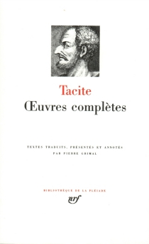Oeuvres complètes - Tacite
