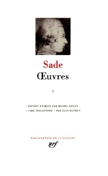 Oeuvres | Volume 1 - Donatien Alphonse François deSade