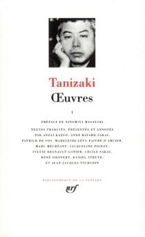 Oeuvres - Jun'ichiroTanizaki