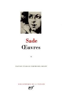 Oeuvres | Volume 2 - Donatien Alphonse François deSade