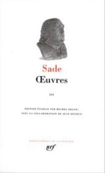 Oeuvres | Volume 3 - Donatien Alphonse François deSade