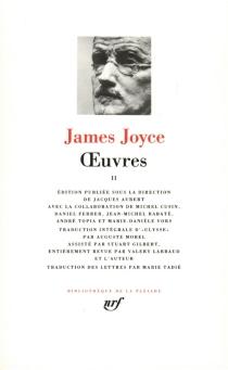 Oeuvres - JamesJoyce