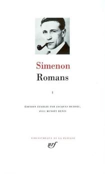 Romans | Volume 1 - GeorgesSimenon