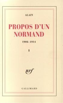 Propos d'un normand : 1906-1914 -