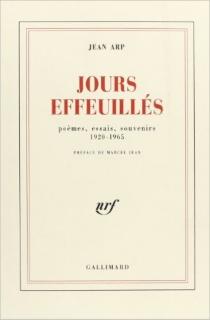 Jours effeuillés - JeanArp
