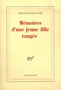 Mémoires d'une jeune fille rangée - Simone deBeauvoir