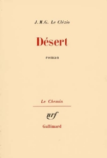 Désert - Jean-Marie GustaveLe Clézio