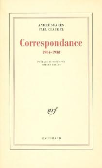 Correspondance : 1904 - 1938 - PaulClaudel