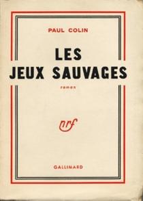 Les jeux sauvages - PaulColin