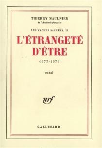 Les Vaches sacrées - ThierryMaulnier