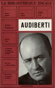 Audiberti - AndréDeslandes