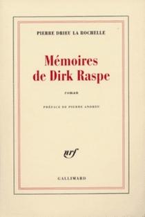 Mémoires de Dirk Raspe - PierreDrieu La Rochelle