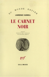 Le carnet noir - LawrenceDurrell