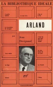 Arland - JeanDuvignaud