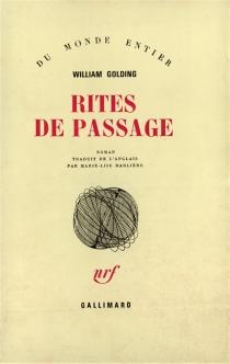 Rites de passage - WilliamGolding