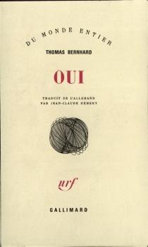 Oui - ThomasBernhard