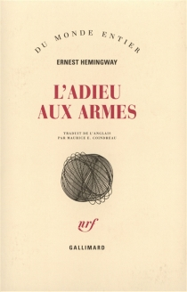 L'adieu aux armes - ErnestHemingway
