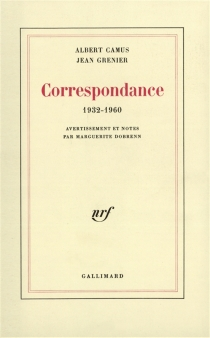 Correspondance : 1932-1960 - AlbertCamus