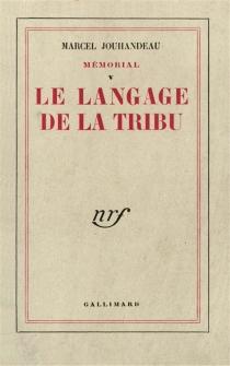 Mémorial - MarcelJouhandeau