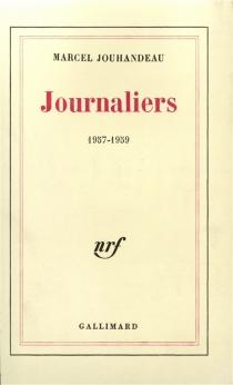 Journaliers - MarcelJouhandeau