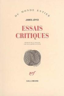 Essais critiques - JamesJoyce