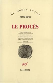 Le procès - FranzKafka