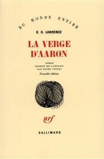 La verge d'Aaron - David HerbertLawrence