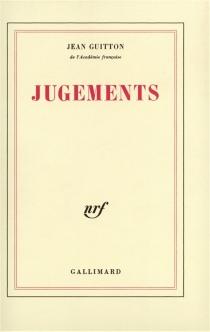 Jugements - JeanGuitton