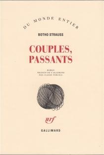 Couples, passants - BothoStrauss