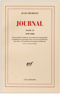 Journal - Jules Michelet