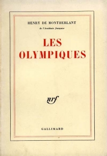 Les olympiques - Henry deMontherlant