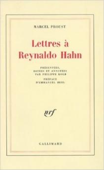 Lettres à Reynaldo Hahn - MarcelProust