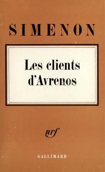 Les Clients d'Avrenos - GeorgesSimenon