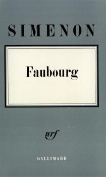 Faubourg - GeorgesSimenon